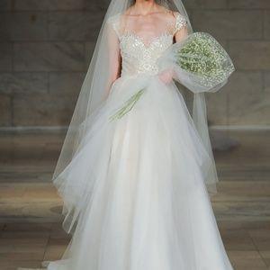 REEM ACRA CHERISH WEDDING DRESS